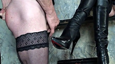 Spanking, Boots, Cfnm, Boot