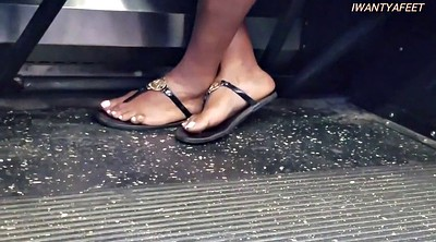 Bus, Candid, On bus, Candid feet