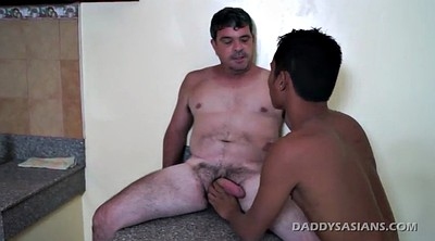 Daddy gay, Asian daddy, Old daddy gay, Old asian, Kiss cum, Daddy old