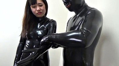 Japanese black, Black japanese, Black & japanese, Asian latex, Catsuit, Japanese latex