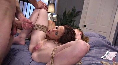Bondage, Threesome kissing, Bondage slave, Anal mature, Ass slave, Doggystyle ass