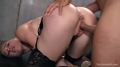 Tied orgasm, Brutal, Short hair