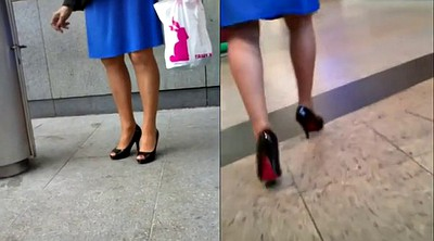 Shoes, Foot fetish, Collection, Candid