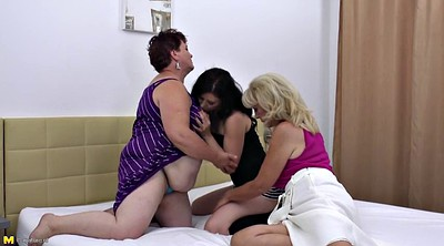 Granny lesbian, Old and young lesbian, Asslicking lesbians