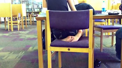 Indian, Indian teen, Candid, Library, Candid feet, Desi indian