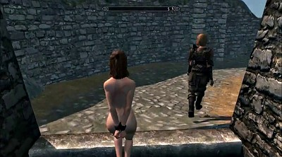 Cartoon, Spanked, Skyrim, Public bdsm