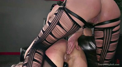 Strapon, Mature lesbian strapon, Mature ass, Ariel, Thick ass, Gape