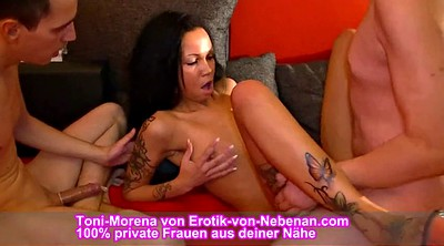 Mmf, Mmf amateur, German mmf, First time amateur, Amateur threesome