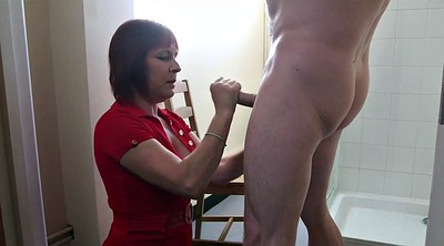 Indian, Indian aunty, Helping, Aunty, Trying