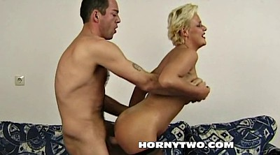 Grannies, Mature blonde gets fucked, Amateurs