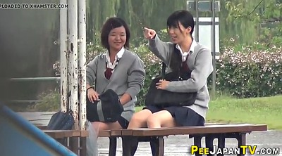 Japanese outdoor, Japanese student