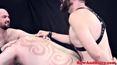 Hairy anal, Leather