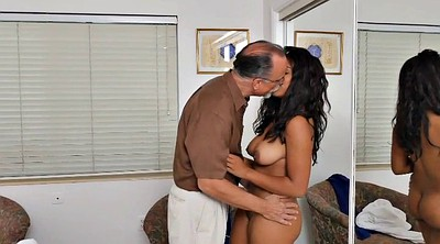 Grandpa, Old fuck, Young busty