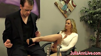 Julia, Julia ann, Milk, Mature handjob, Anne
