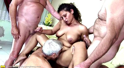 Piss mature, Old and young, Granny piss, Granny gangbang