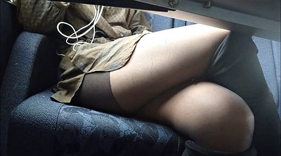 Upskirt, Under table