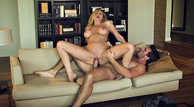 Julia ann, Swallow, Cum kissing, Cum kiss