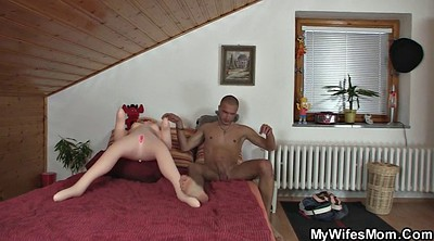 Mature milf, Help, Mature wife, Old cum, Help wife, Old wife