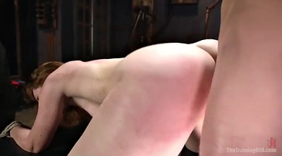 Tit tied, Spanked and fucked