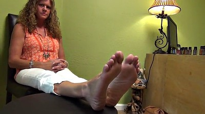 Foot fetish, Mature feet