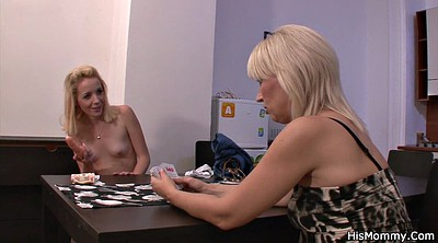 Young old, Mature and young lesbians, Lesbian mom
