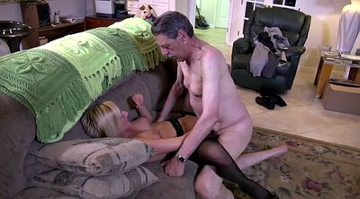 Grandpa, Kate, Mature and young, Granny handjob, Blonde granny, Old grandpa