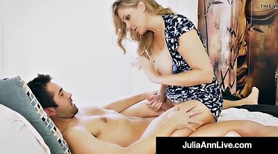 Julia ann, Ann, Son mom, Step son