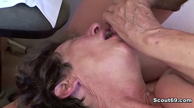 Granny anal, Step mom, Step son, German granny, Mom fuck, Anal mom son