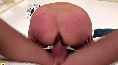 Mature anal, Mom n son