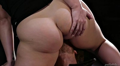 Punished, Hairy milf, Hairy redhead, Femdom riding
