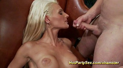 Anal gangbang, Orgy party