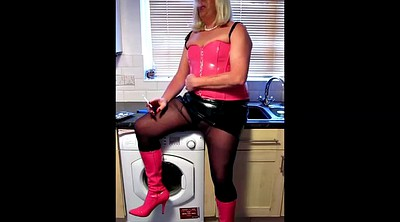 Boots, Heels solo, Crossdressers, Crossdress