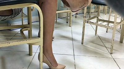 High heels, Candid, High-heeled