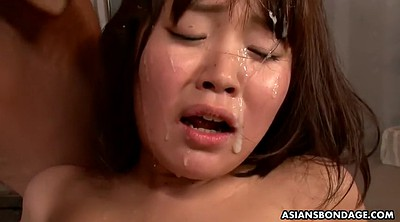 Japanese bukkake, Close, Ride creampie, Nene