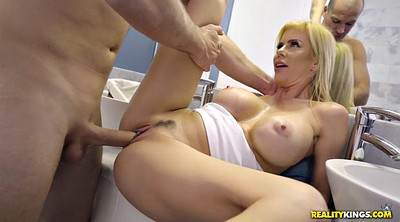 Bathroom, Big cock milf, Alexis fawx