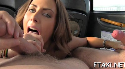 Fake taxi, In car