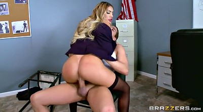 Brazzers, Ass, August ames, At work, Brazzers ass, August ames anal
