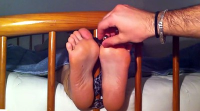 Tickle, Tickling, Nylon foot, Tickled, Tickle feet