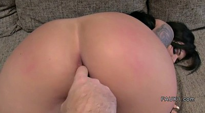 Anal creampie, Busty creampie, Fake agent