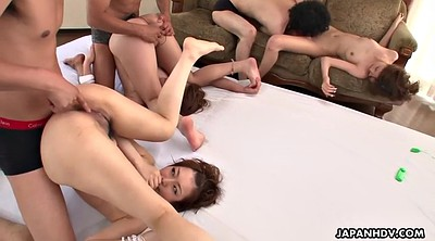 Japanese group, Japanese orgasm, Japanese girl, Japanese pee, Japanese group sex, Japanese three