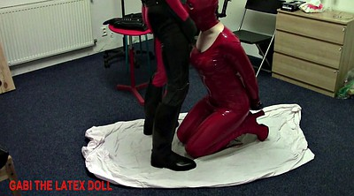 Latex, Doll, Sex doll, Spanking sex, Rubber, Spanked and fucked