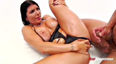 Romi rain, Busty oil, Oil, Body