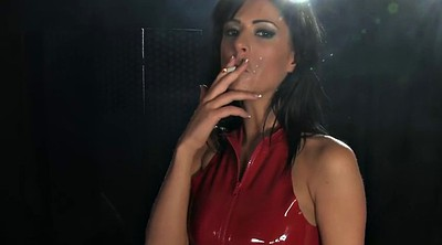 Bdsm latex, Smoking, Mistresses