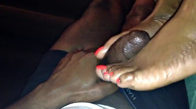 Mature feet, Black foot