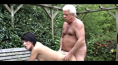 Daddy, Grandpa, Park, Mature outdoor