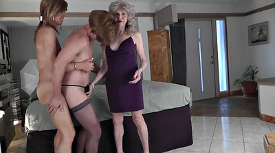 Crossdressers, Crossdresser blowjob