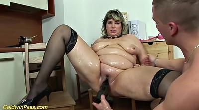 Mom anal, Pump, Mom fuck, Bbw mom