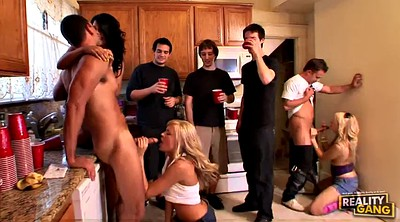 Kitchen, Group sex orgy