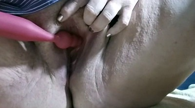 Big clit, Orgasm contractions, Contraction, Contractions