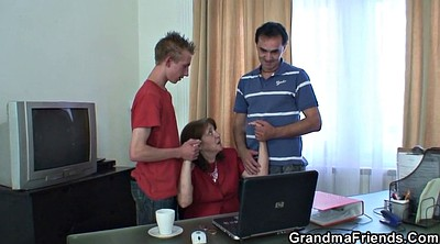 Old young, Office sex
